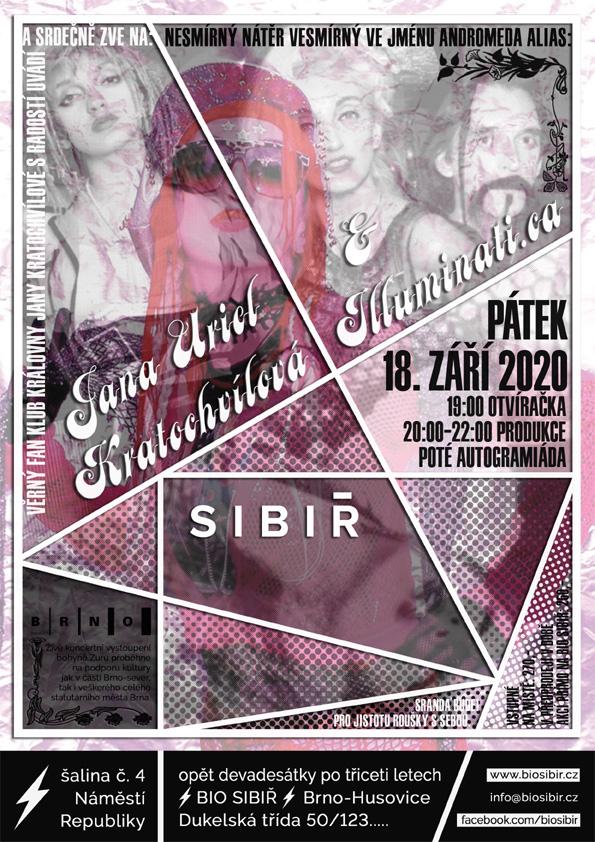 pátek 18.9.2020 Sibir